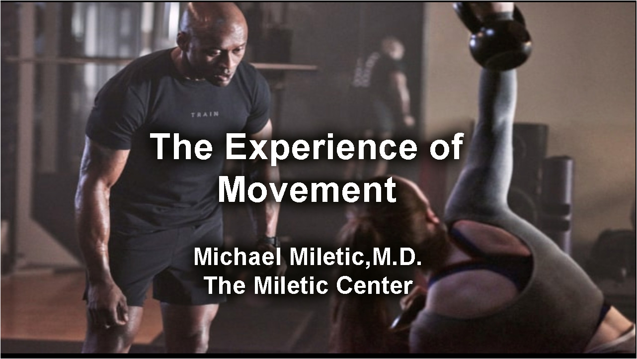 The Experience of Movement - Download