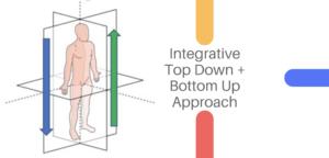 Integrative Top Down Bottom Up Approach